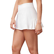 Fila Women's Windowpane Pleated Back Tennis Skort