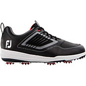 FootJoy Men's Fury Golf Shoes in Black/Red