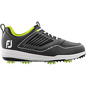 FootJoy Men's Fury Golf Shoes in Grey/Lime