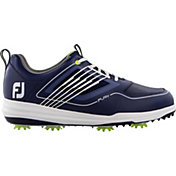 FootJoy Men's Fury Golf Shoes in Navy/White