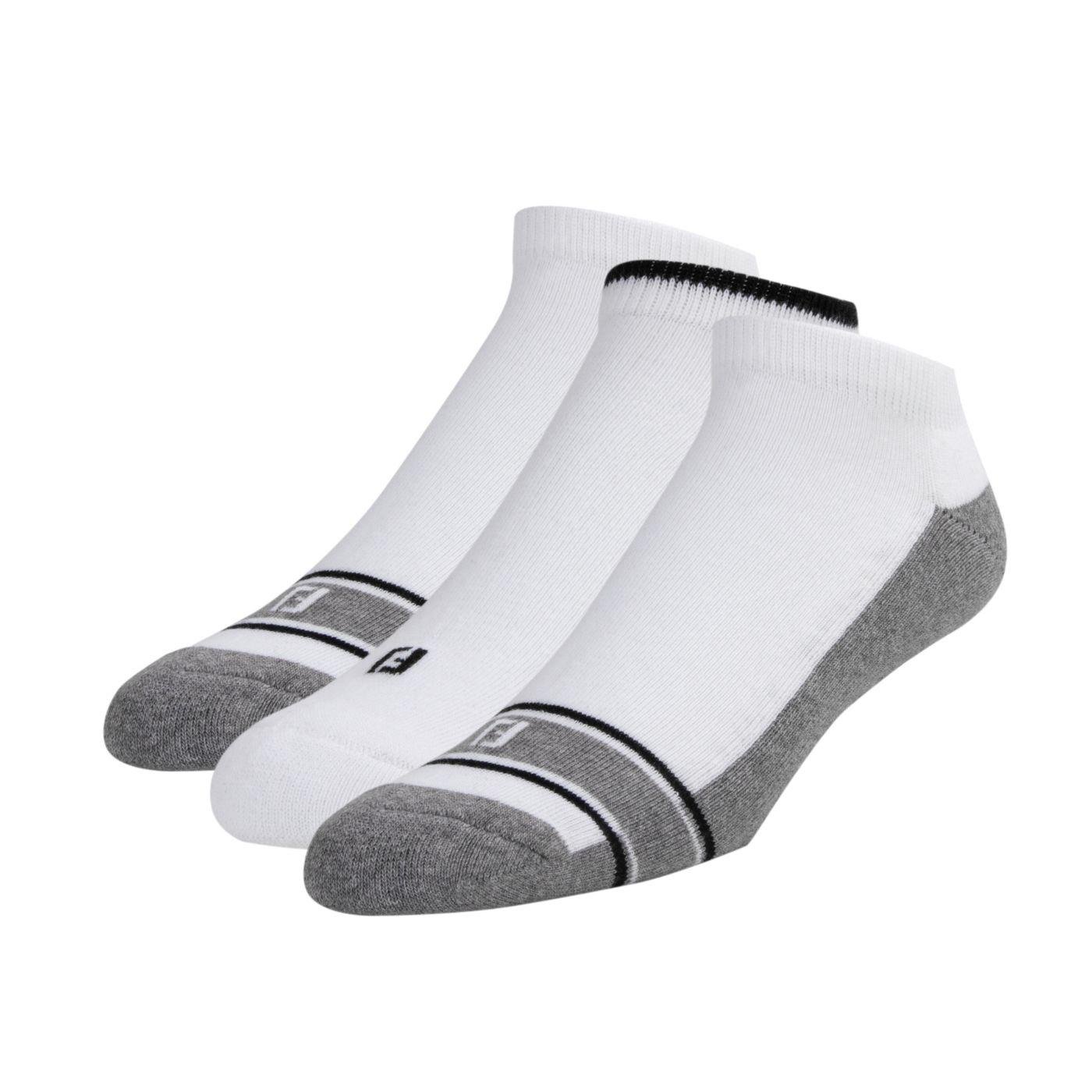 FootJoy Men's ComfortSof Low Cut Golf Socks - 3 Pack