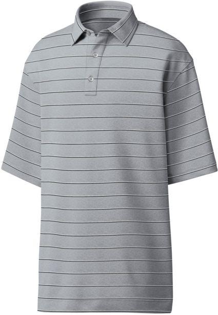 FootJoy Men's Spun Poly Stripe Golf Polo