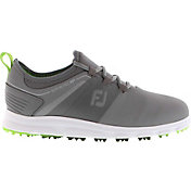 FootJoy Men's 2019 SuperLites XP Golf Shoes in Grey/Green