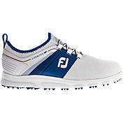 FootJoy Men's 2019 SuperLites XP Golf Shoes in White/Blue