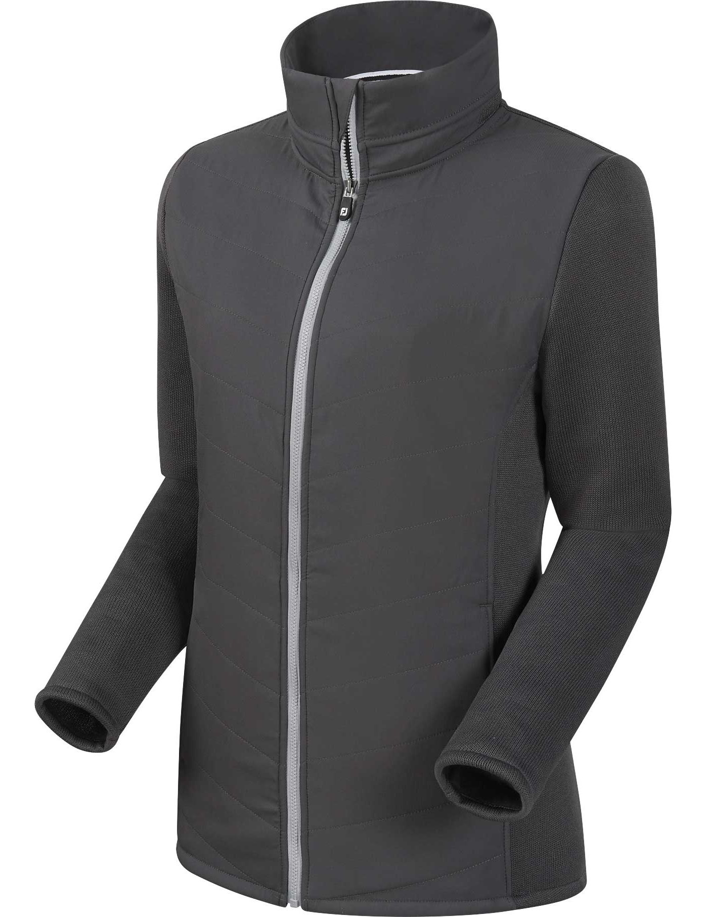 FootJoy Women's Full-Zip Quilted Hybrid Golf Jacket