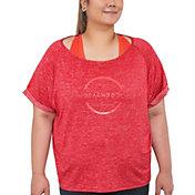 Beachbody Women's Plus Size Energy Barcode Layering T-Shirt