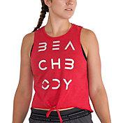 Beachbody Women's Vintage Triblend GFX Crop Tank Top