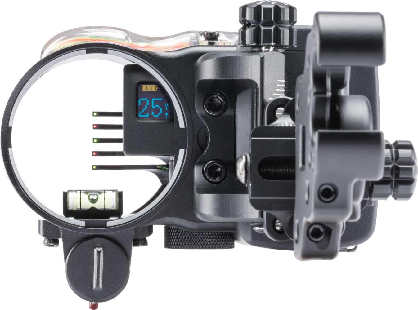 IQ Define Range Finding 5 Pin Archery Sight, Right Hand