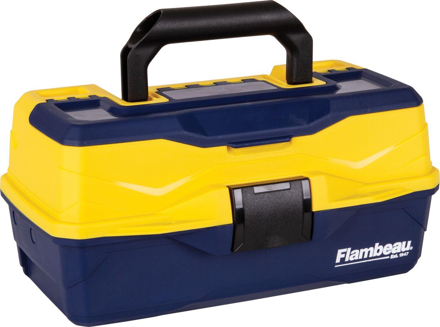 Flambeau Adventurer Kid's 1-Tray Tackle Box with Starter Kit