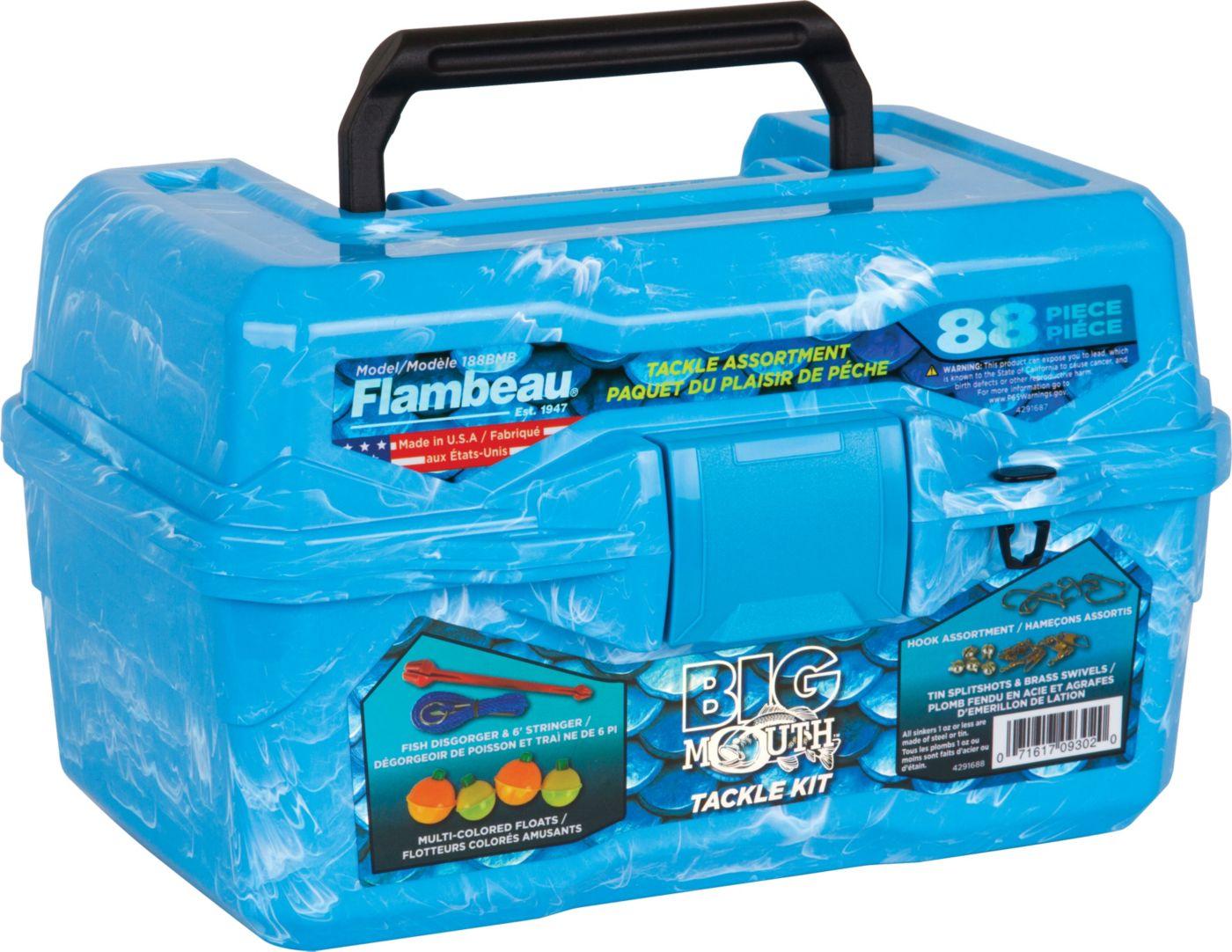 Flambeau Big Mouth 88-Piece Tackle Kit