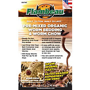 Flambeau Pre-Mixed Worm Bedding and Chow