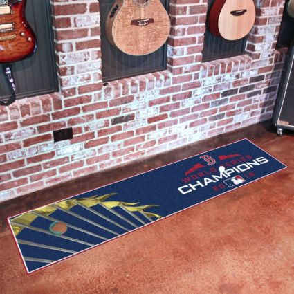 FANMATS 2018 World Series Champions Boston Red Sox Putting Mat