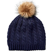 Field & Stream Women's Cabin Cable Fur Pom Beanie