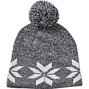 Field & Stream Women's Cabin Snowflake Pom Beanie