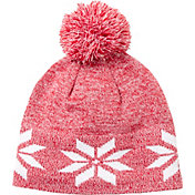 Field & Stream Youth Cabin Snowflake Pom Beanie