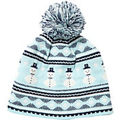 Field & Stream Youth Cabin Snowman Pom Beanie