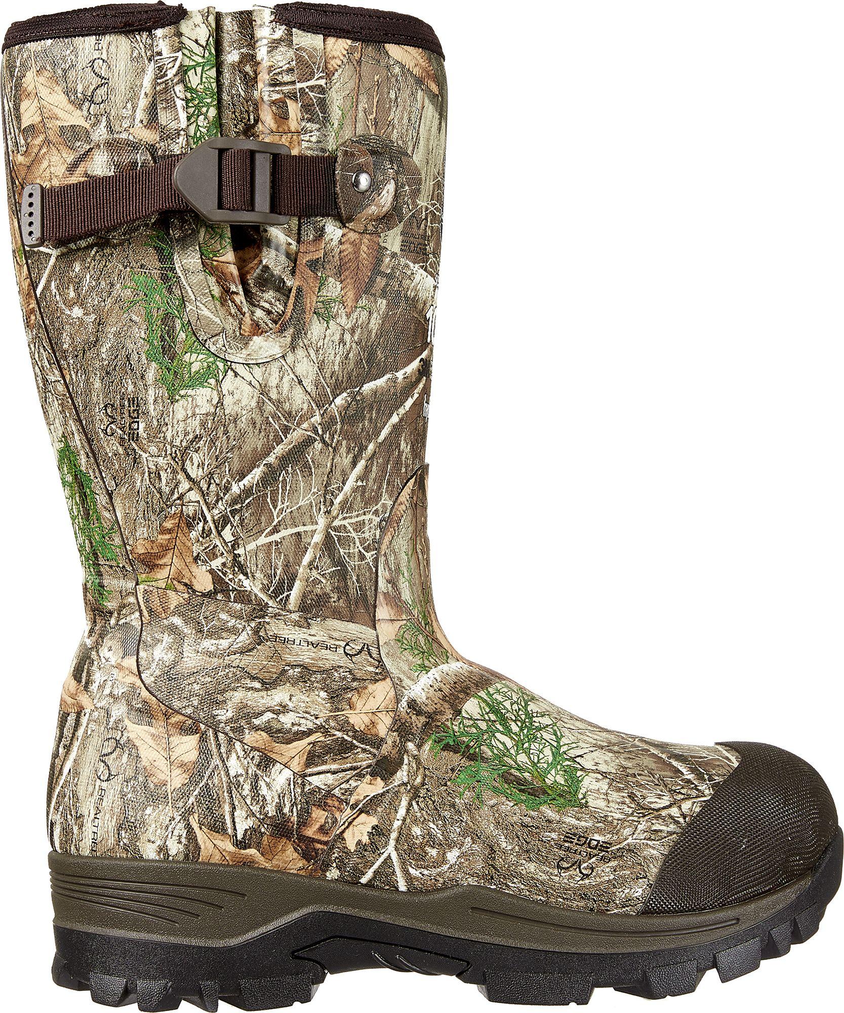 Field & Stream Women's Swamptracker 1000g RTE Rubber Hunting Boots, Multi