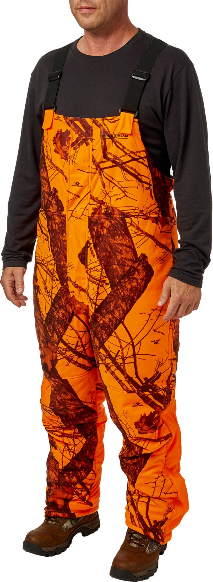 Field & Stream Men's Command Hunt Reversible System Bibs, XXL, Mossy Oak Country