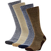 Field & Stream Performance Hiking Crew Socks - 4 Pack