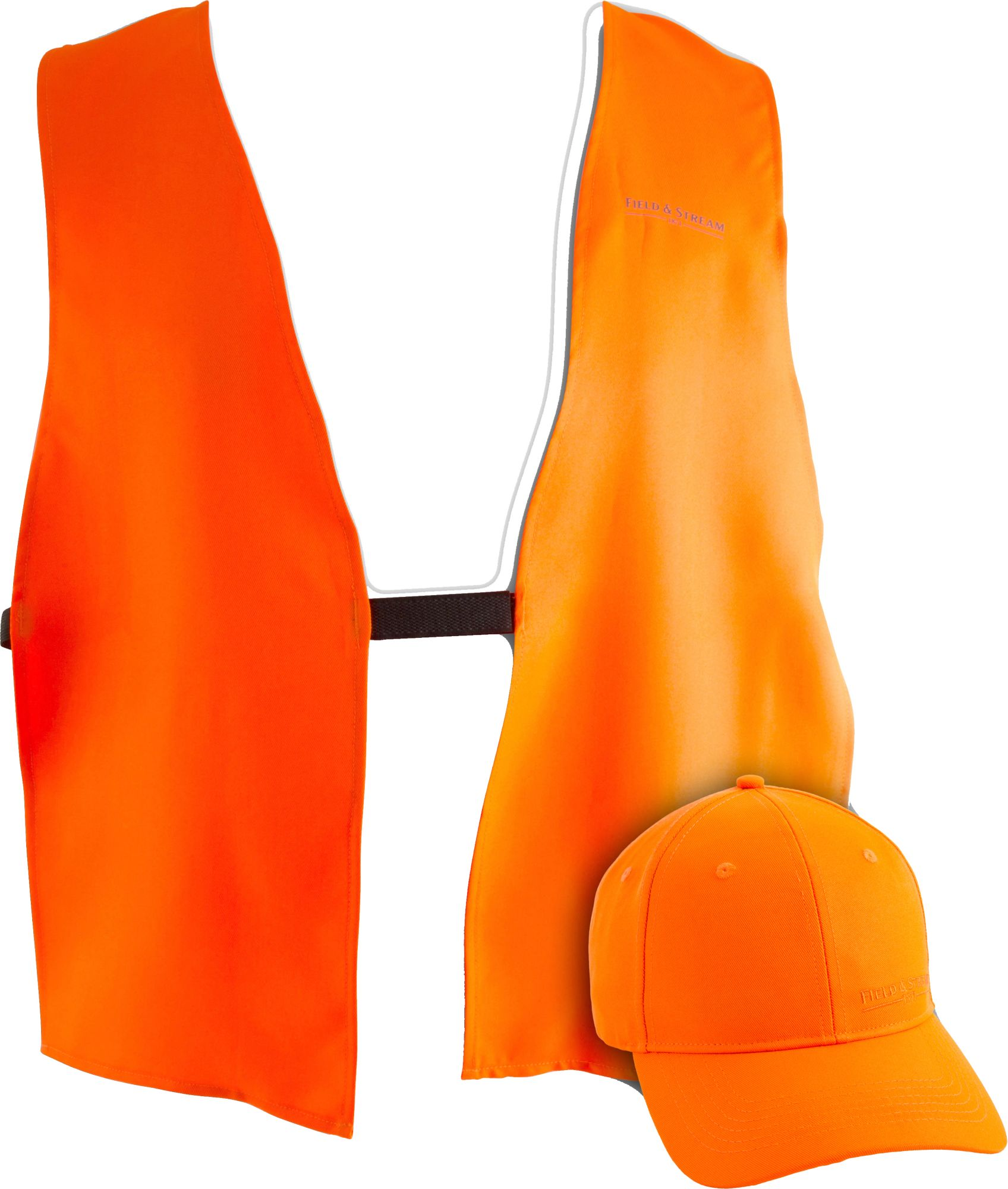 Field & Stream Blaze Hat and Vest Combo, Men's, Blaze Orange thumbnail
