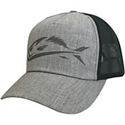 Field   Stream Men s Heather Grey Fish Icon Trucker Hat a925645a9dd