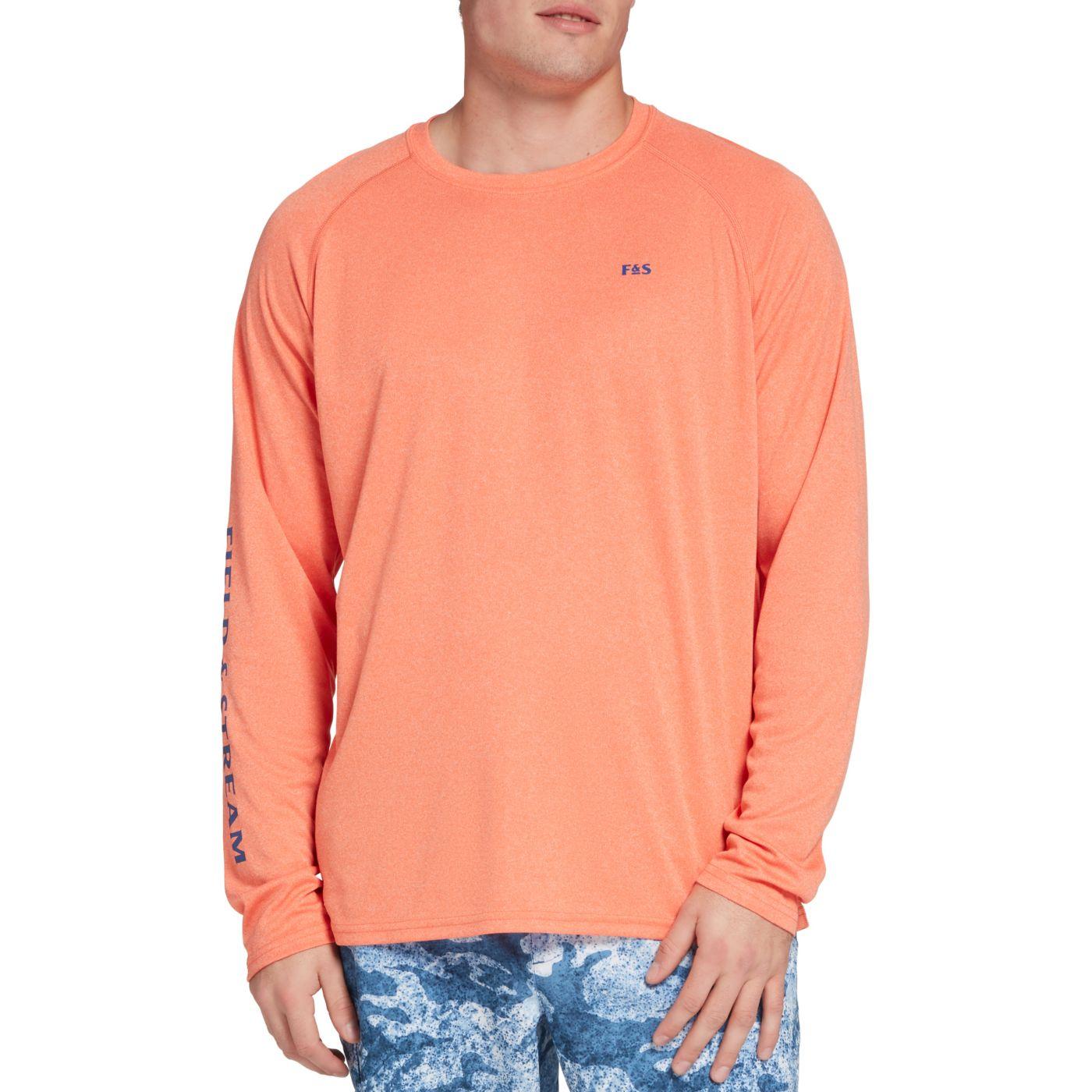 Field & Stream Men's Heathered Long Sleeve Tech T-Shirt
