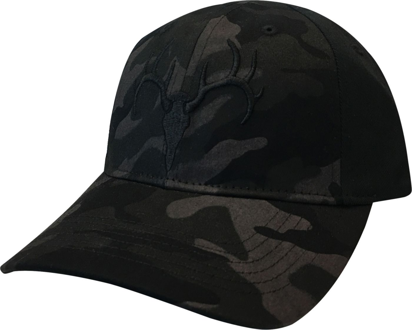 Field & Stream® Men's Black Camo Hat