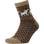 Field and Stream Men's Moose Cozy Cabin Socks