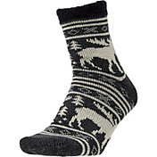Field and Stream Men's Moose Stripe Cozy Cabin Socks