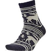 Field and Stream Men's Moose Stripe Cozy Cabin Socks