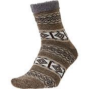 Field and Stream Men's Nordic Stripe Cozy Cabin Socks