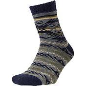 Field and Stream Men's Tribal Stripe Cozy Cabin Socks