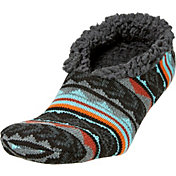 Field & Stream Men's Cabin Tribal Nordic Slipper Socks
