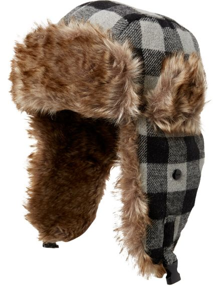 72537768d50 ... Men s Plaid Trapper Hat. noImageFound. 1   1