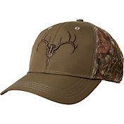 Field & Stream Men's Camo Technical Embroidered Skull Hat