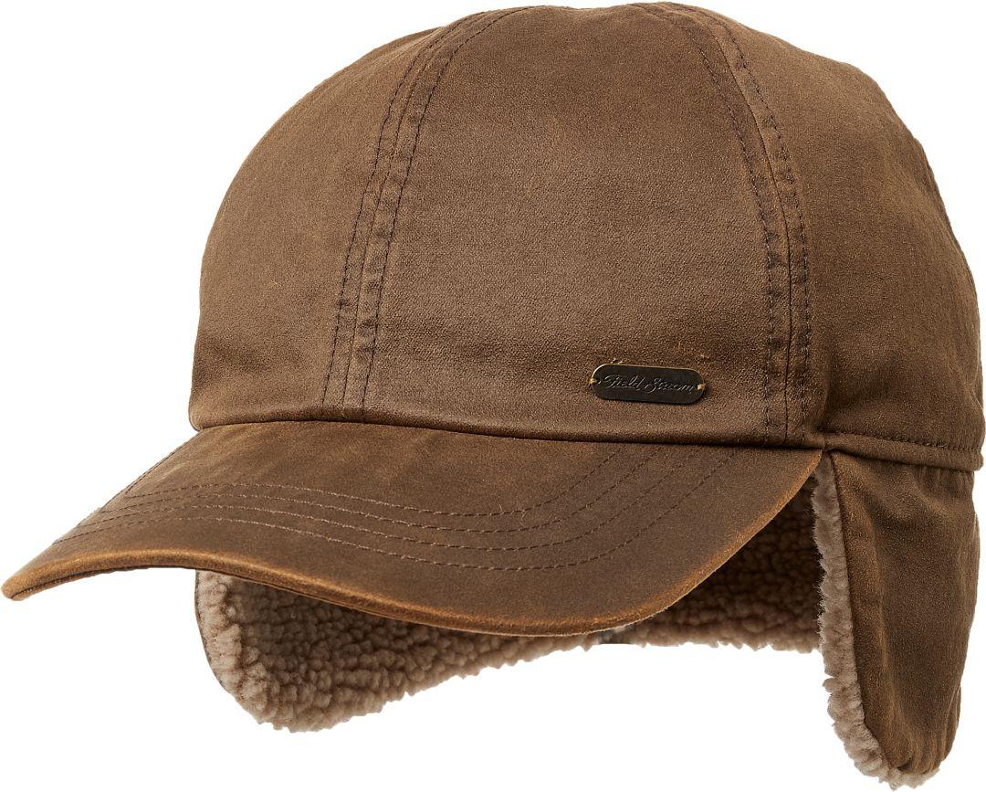 d67493716c30a Field & Stream Men's Waxed Canvas Ear Flap Hat