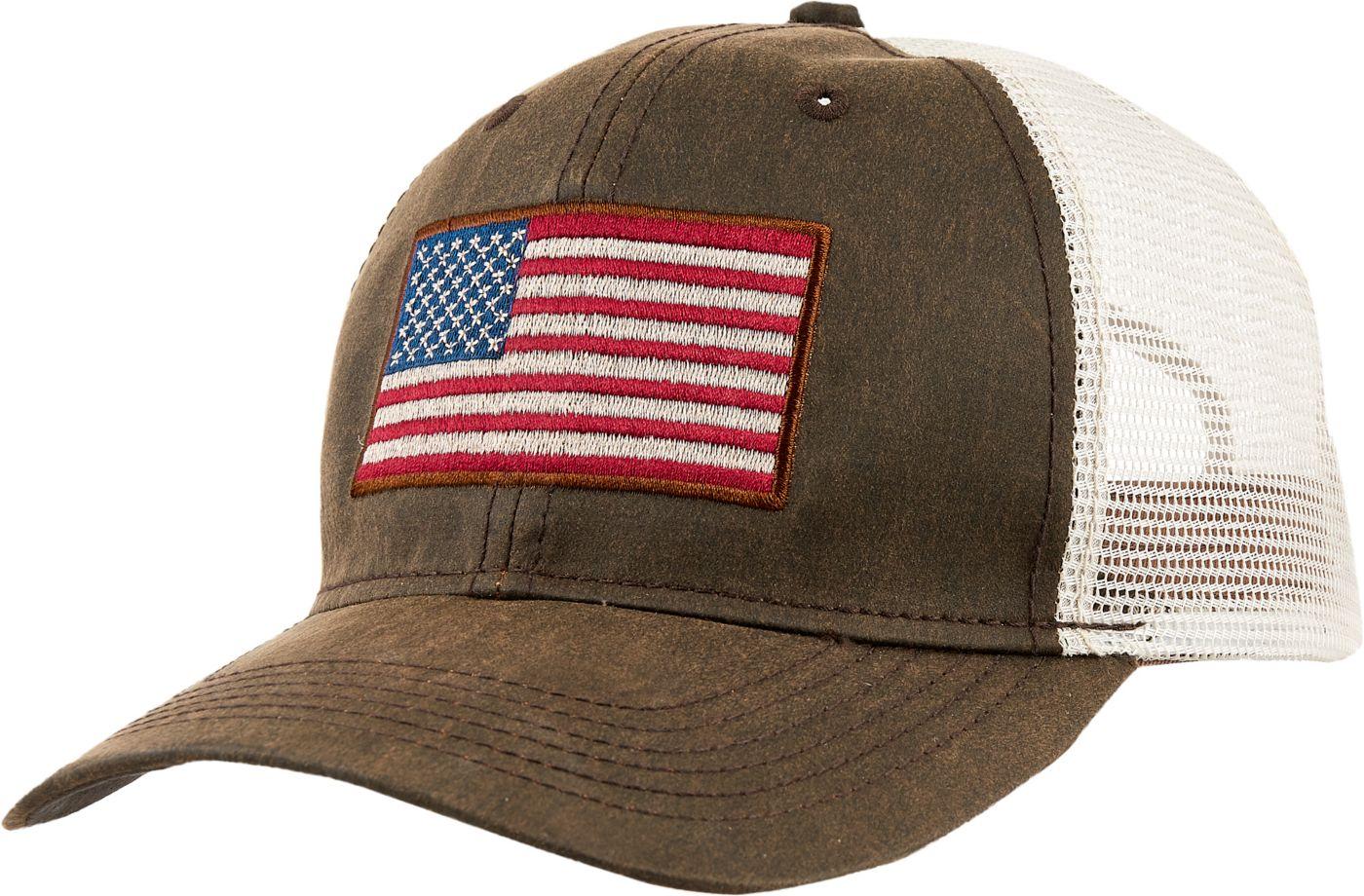 Field & Stream Men's Flag Patch Trucker Hat