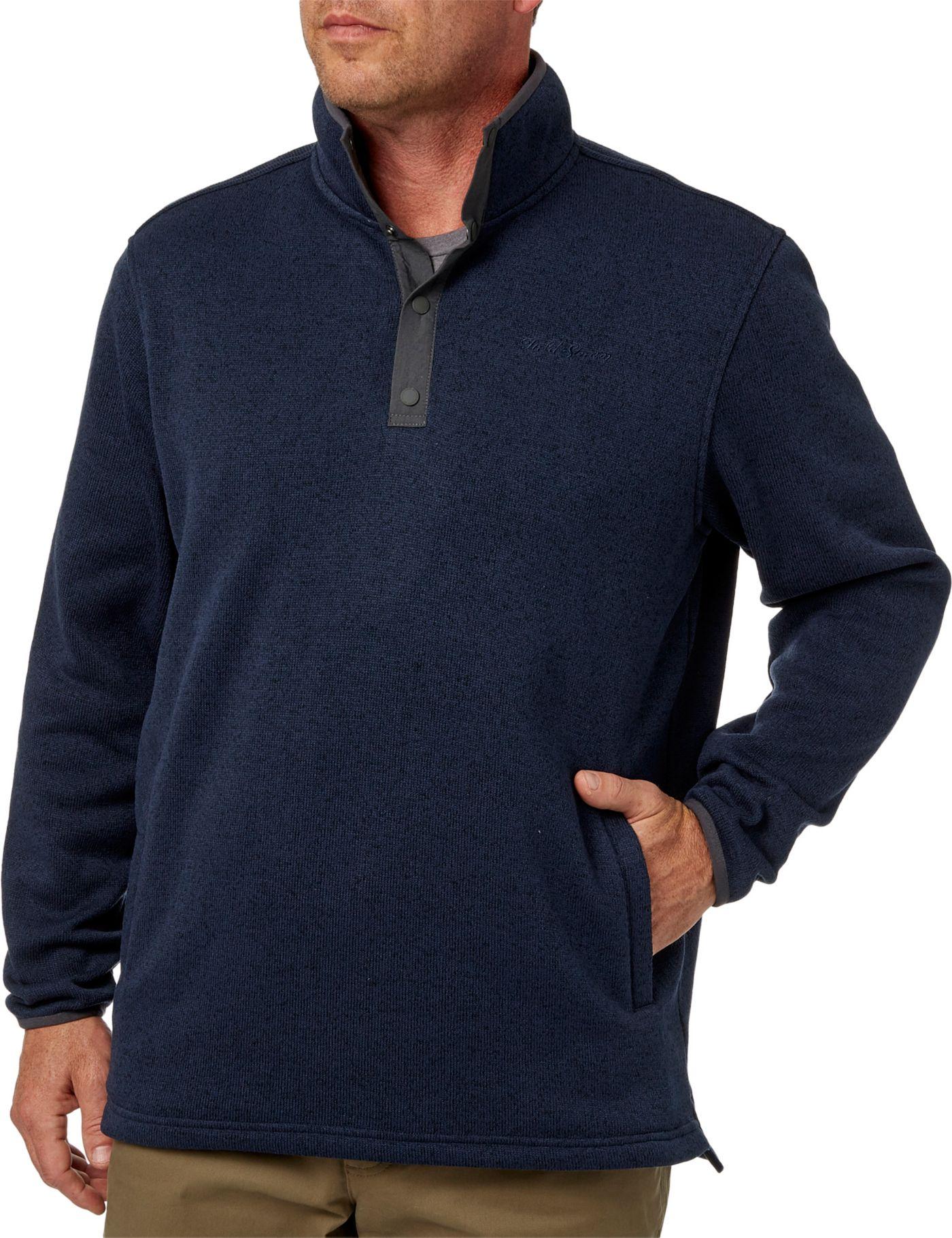 Field & Stream Men's Snap Sweater Fleece Pullover