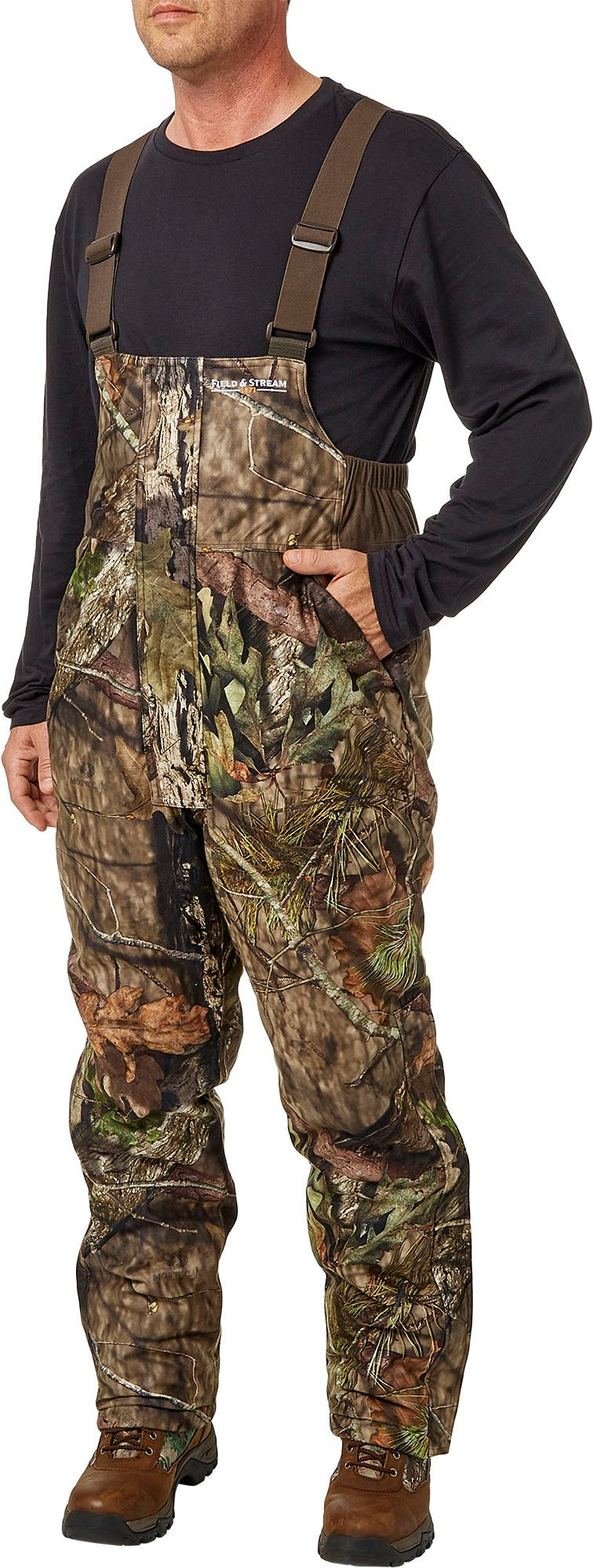 Field & Stream Men's True Pursuit Insulated Hunting Bibs, Size: Medium, Mossy Oak Country thumbnail