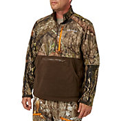 Field & Stream Men's Every Hunt 1/2 Zip Softshell Hybrid Jacket