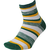 Field and Stream Block Stripe Cozy Cabin Crew Socks