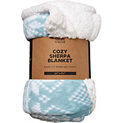 Field & Stream Cozy Sherpa Blanket
