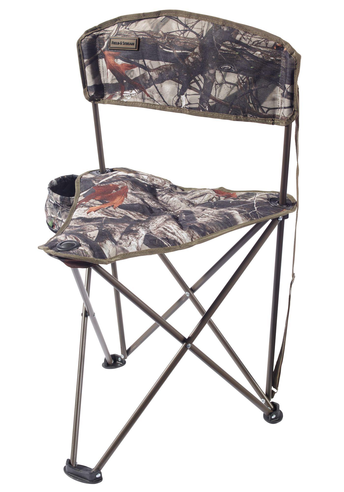 Field & Stream Tripod Backrest Stool