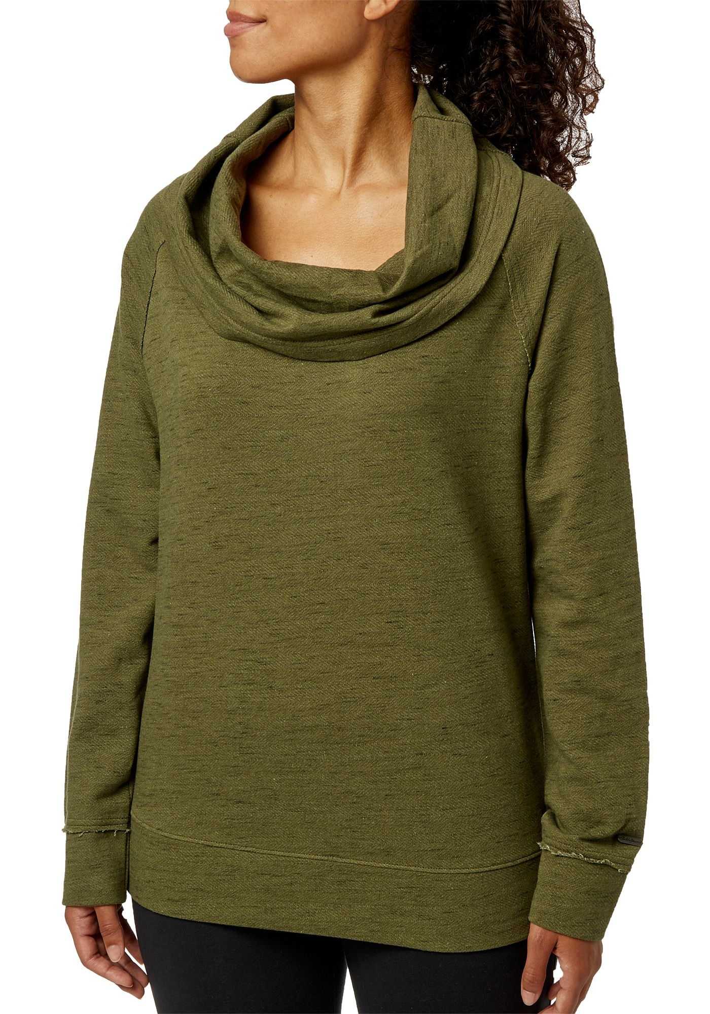 Field & Stream Women's French Terry Cowl Neck Pullover Shirt
