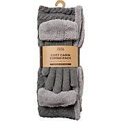 Field & Stream Women's Cozy Gift Set Cable Snood & Gloves