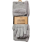 Field & Stream Women's Cozy Gift Set Marled Snood & Gloves