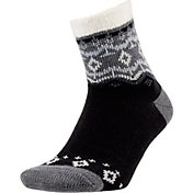Field and Stream Women's Fairisle Cozy Cabin Socks