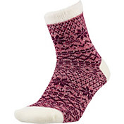 Field and Stream Women's Marled Nordic Cozy Cabin Crew Socks