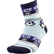 Field and Stream Women's Nordic Penguin Cozy Cabin Crew Socks