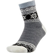 Field and Stream Women's Nordic Band Cozy Cabin Crew Socks